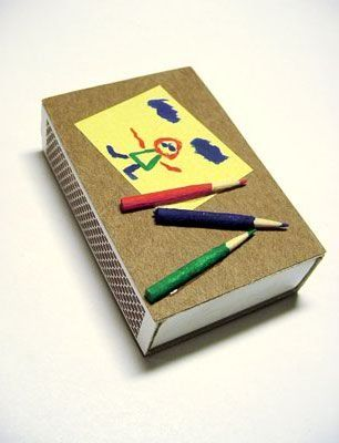 Caja de fósforos decorada 4