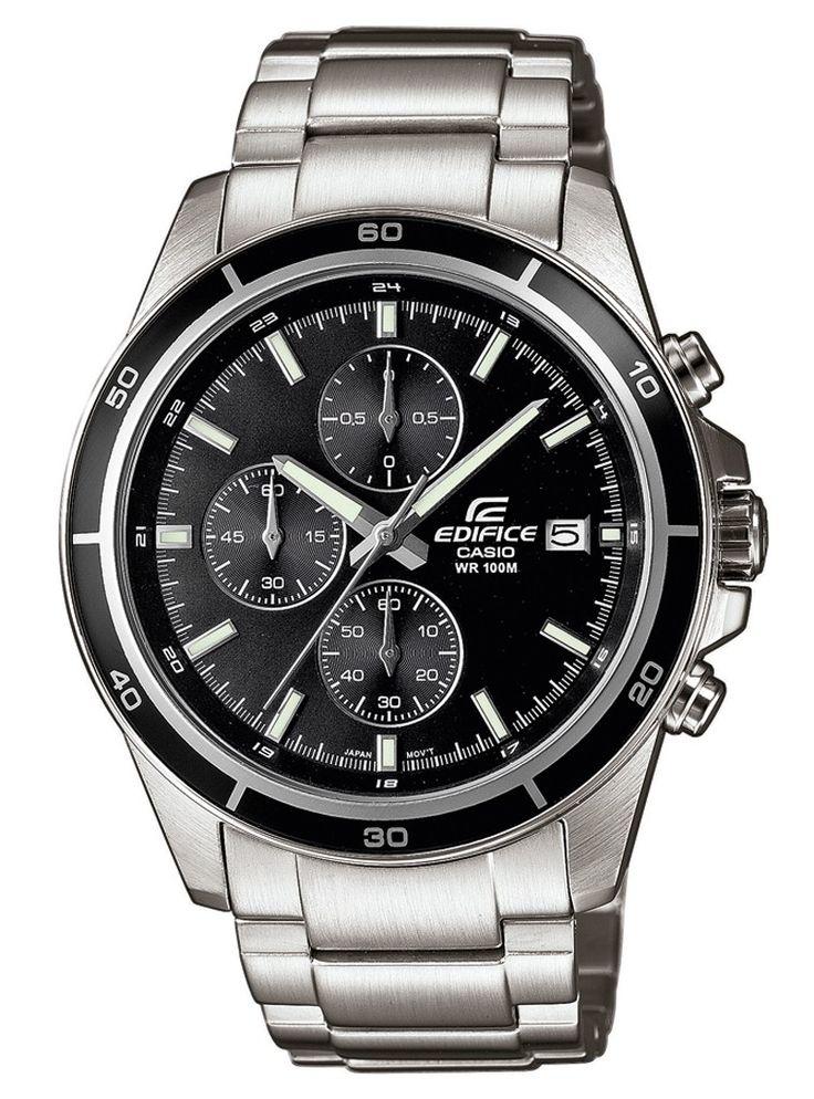 Klassisk armbåndsur til mænd i stål - Casio Edifice EFR-526D-1AVUEF