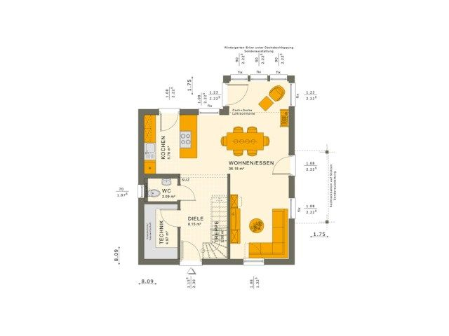 The Single Family House Plan 8x8 Home Ideassearch Family House Plans House Plans Family House