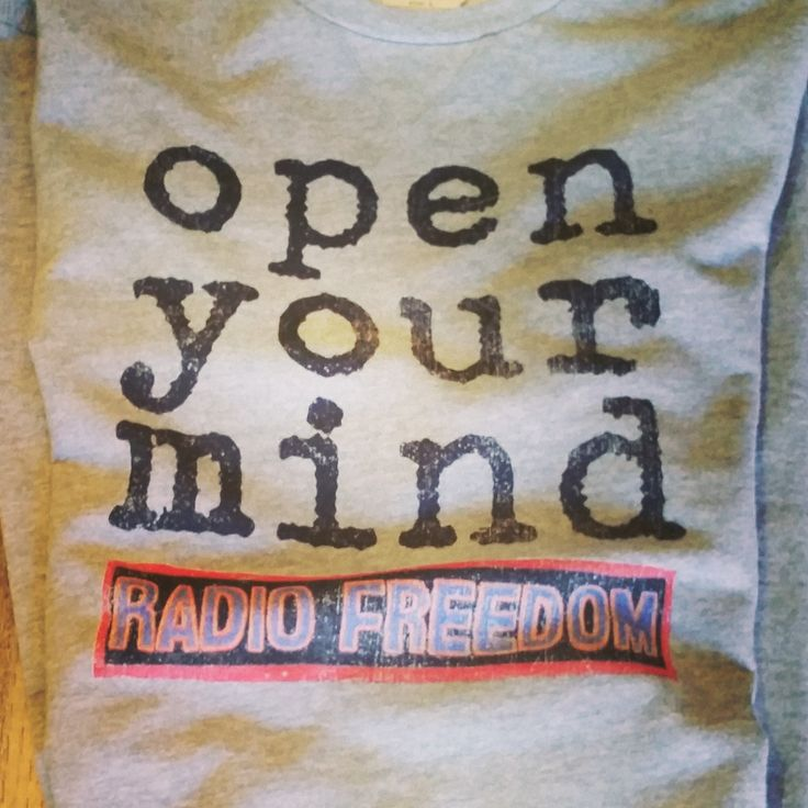 Have you seen our sweatshirts? This grey melange sweat with Radio Freedom print has a story.. Open your mind to social consciousness! Radio Freedom was the resistance radio station of the 60's – this was their actual logo. Shop it here www.46664fashion.com . #Menswear #Winter15 #Sweaters #Prints #RadioFreedom #ProudlySouthAfrican