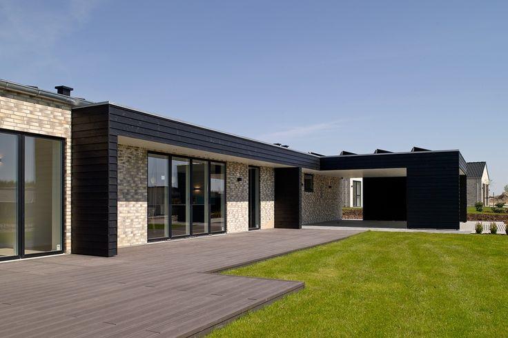 Minimalistisk super-lavenergi eurodan-hus