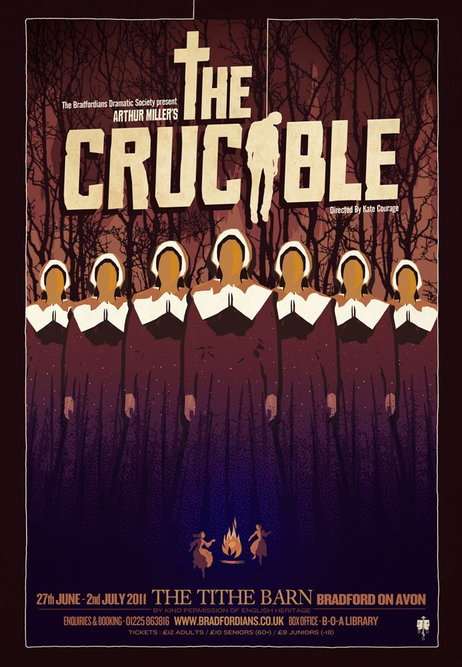 the crucible religion Struggling with themes such as religion in arthur miller's the crucible we've got the quick and easy lowdown on it here.