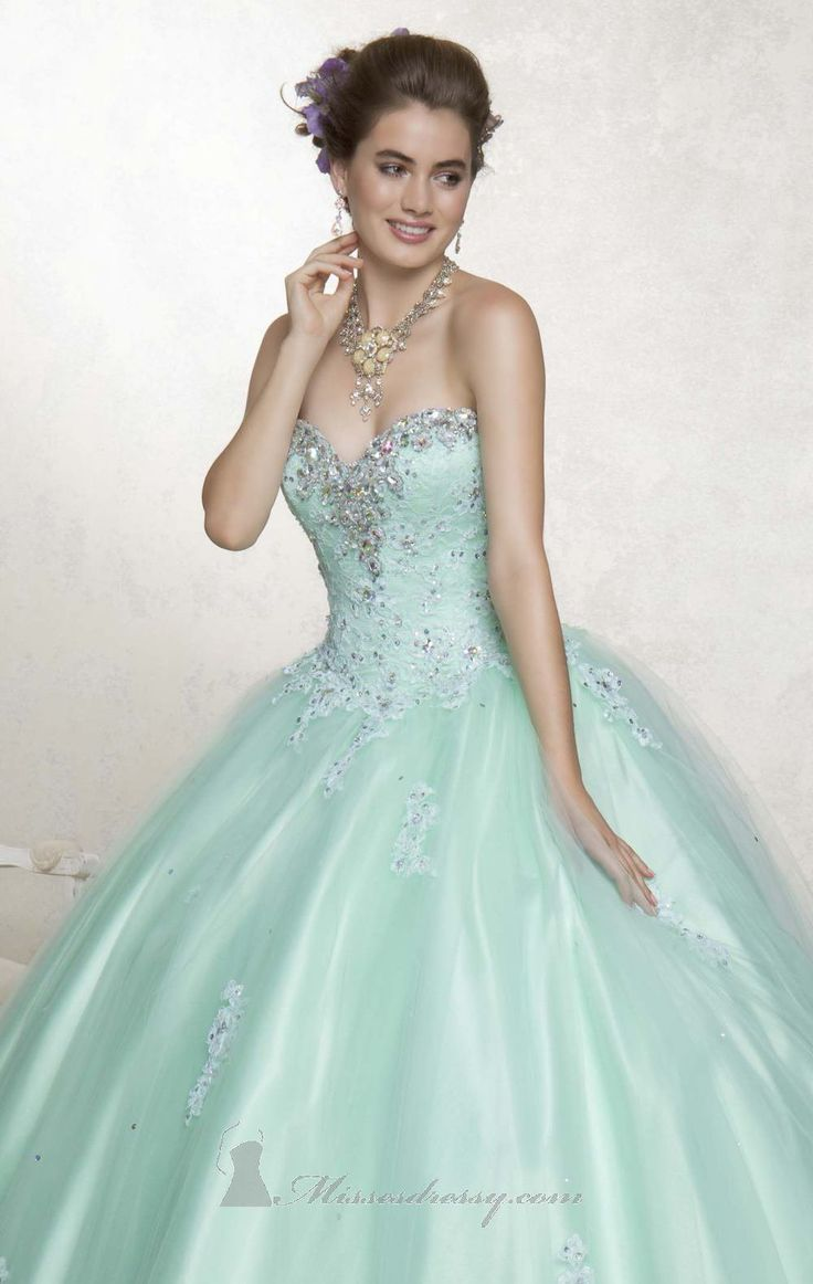 Light Green Quinceañera Dress