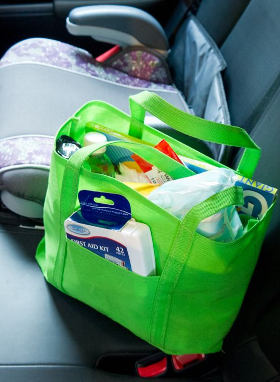 The Everyday Emergency Kit Every Mom Needs in Her Car