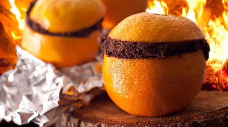 Campfire Desserts Chocolate Orange Muffins