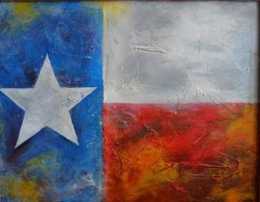 "Saatchi Art Artist Angel F Matamoros; Painting, ""Lone Star 1"" #art"