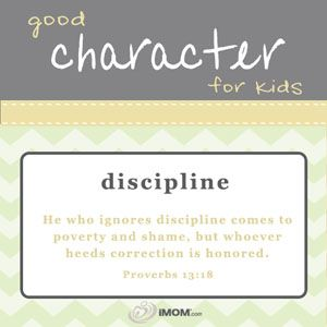 Good Character for Kids  imom.com/tools/training-tools/good-character-for-kids/#discipline  #character
