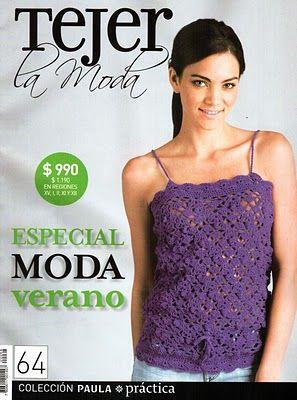 Creaciones en crochet y dos agujas serranas: Tejer la moda ... muchas revistas para descargar