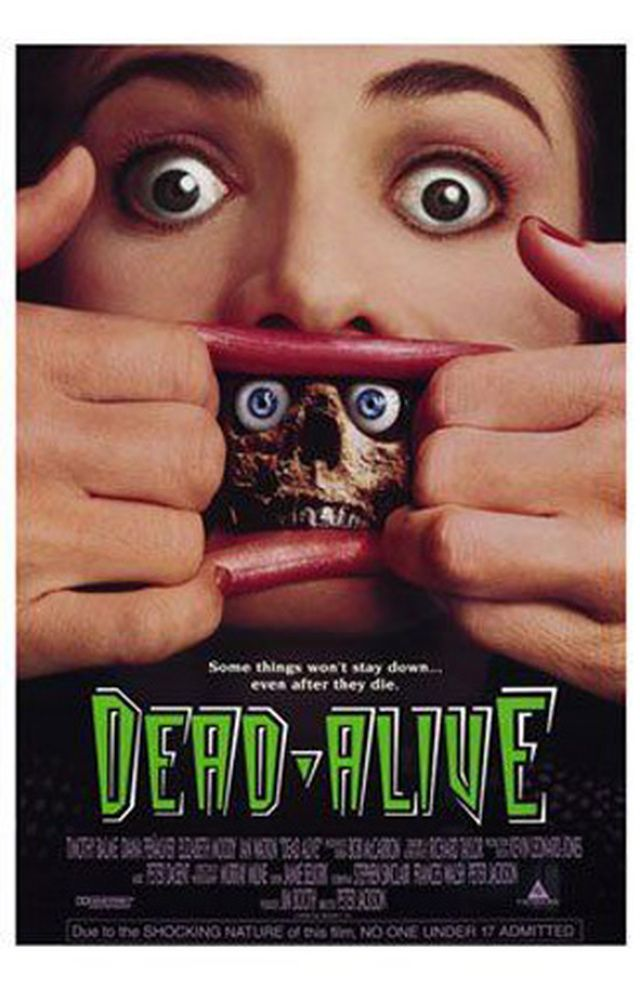 60 Great Horror Movie Posters: Dead Alive (1992)