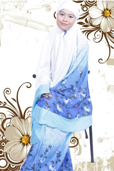 Mukena Bali Terbaru Flower 14 | Warung Muslimah