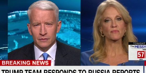 WATCH: Anderson Cooper's interview with Trump's advisor turns ugly