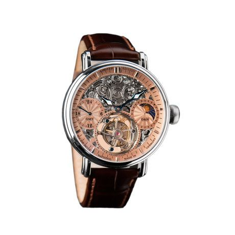 POLJOT Mechanical Watches Poljot International is a leader of inimitable and post-modern design, these well-designed watches have been carefully assembled in Germany to exacting standards. Whichever you choose, it's sure to be historically inspired and absolutely stunning.Tourbillon Skeleton Mechanical // 3360.T0R