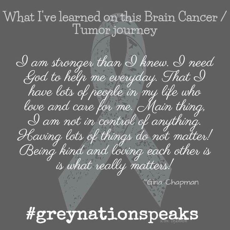 Best 25+ Brain Cancer Quotes Ideas On Pinterest
