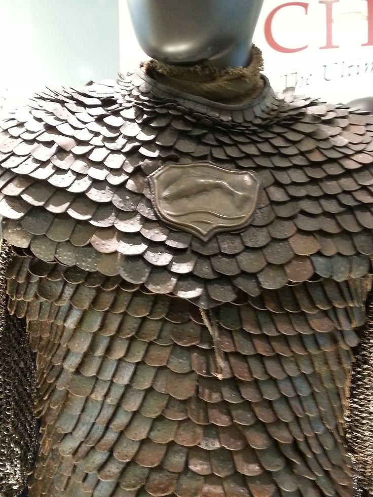 "From ""Game of Thrones"" worn by Clive Russell as Brynden 'Blackfish' Tully design by Michele Clapton"