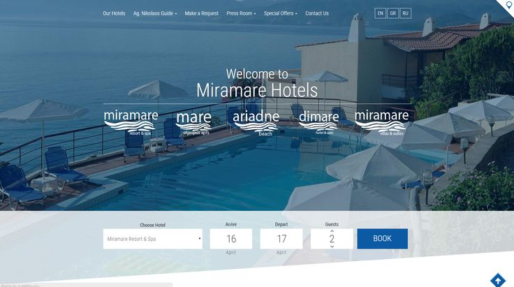 A charming complex, a collection of spacious rooms, attractive bungalows and charming flats facing the endless iridescent blue sea with a unique view of Agios Nikolaos. http://www.eyewide.gr/en/portfolio/tourism/miramare-crete #website #eyewide #miramare #crete #seo #hotel #marketing