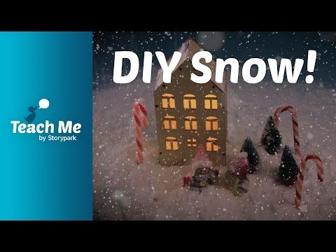 Teach Me: Shaving Foam Snow - YouTube