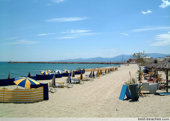 FRANCE: Canet Plage - Many happy hours spent on that beach...