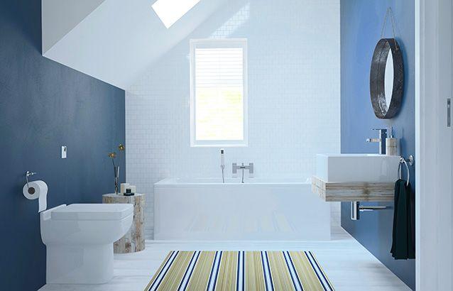 Cubitt Designer 3 Piece Bath Suite Sv7200038 Scene Rectangle Medium Traditional Bathroom Suites Bathroom Compact Bathroom