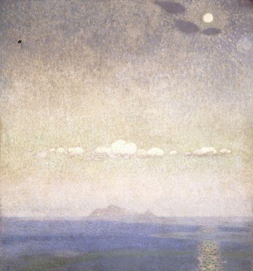 Παρθένης Κωνσταντίνος - Τοπίο, πριν το 1903  Konstantinos Parthenis (Greek, 1878-1967), Landscape, before 1903.