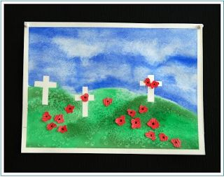 REMEMBRANCE Day watercolour