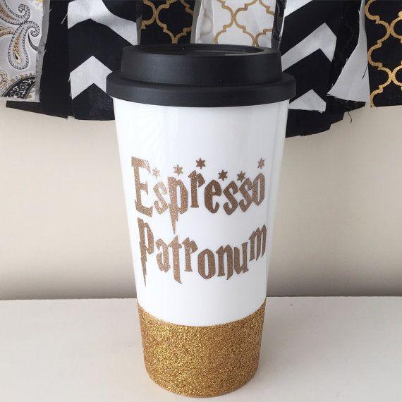 """Tasse de café """"Espresso Patronum"""" voyage - Harry Potter"""