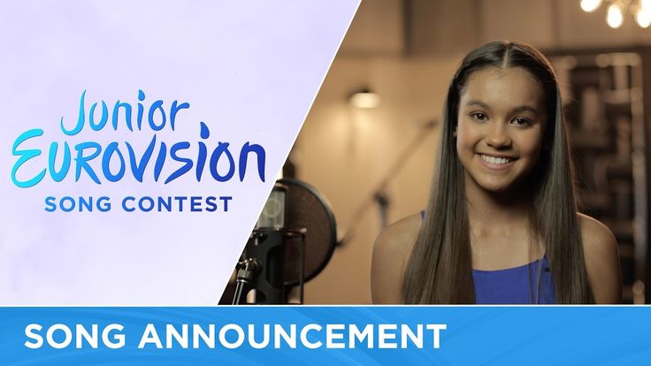 Alexa Curtis from Australia announces her song for Junior Eurovision 2016