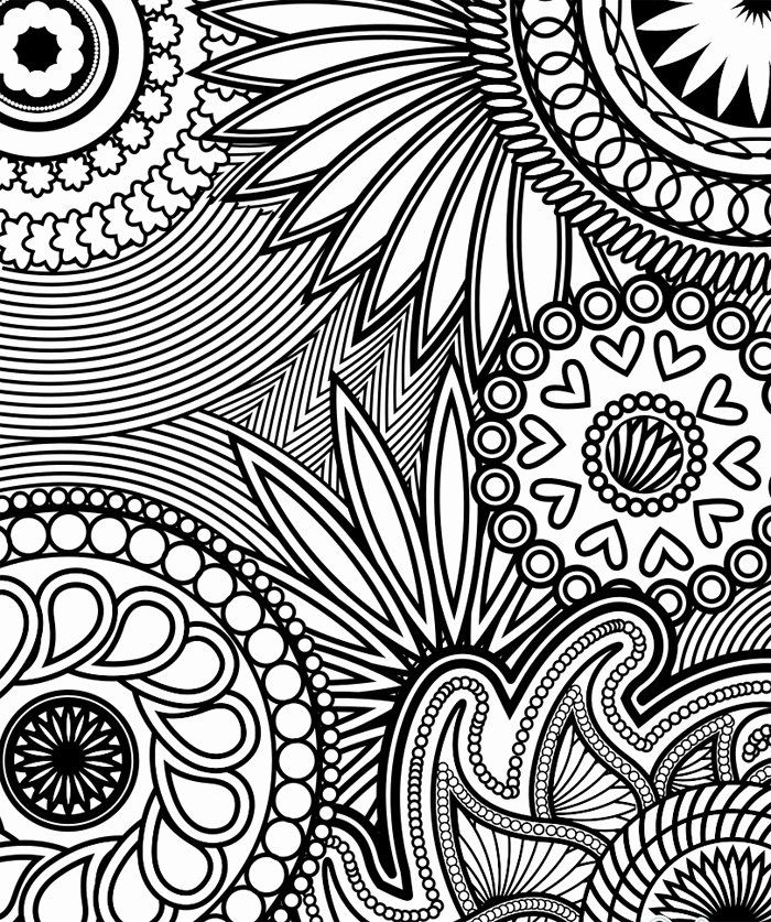 Coloring Books For Adults Online - Coloring Home | 837x700