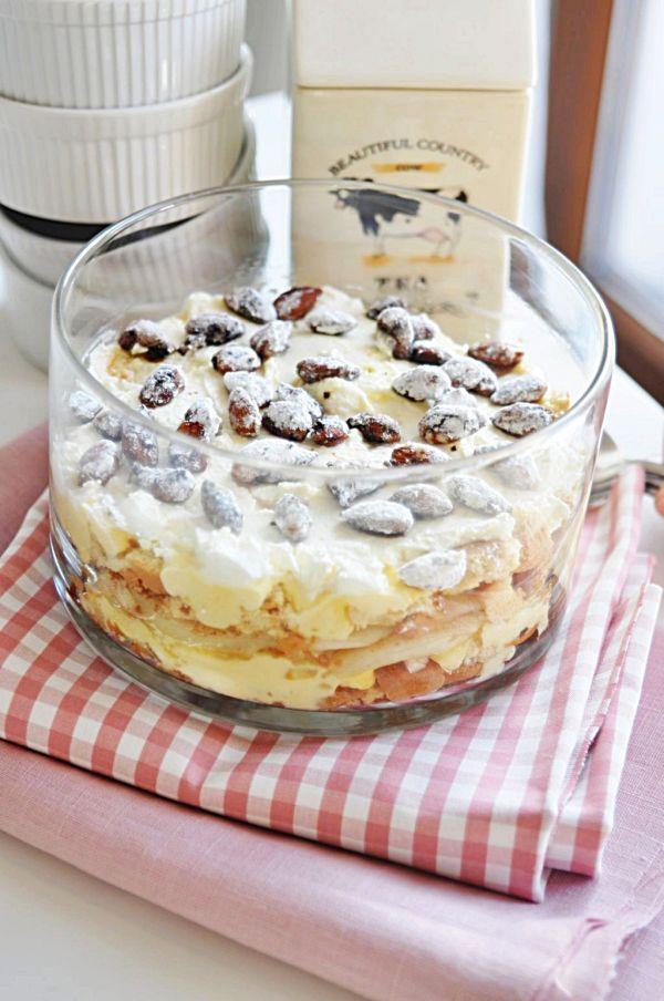 BEZ PIECZENIA - Ciasto - Karmelizowane gruszki