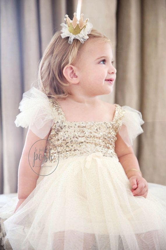 The 25+ best Gold flower girl dresses ideas on Pinterest