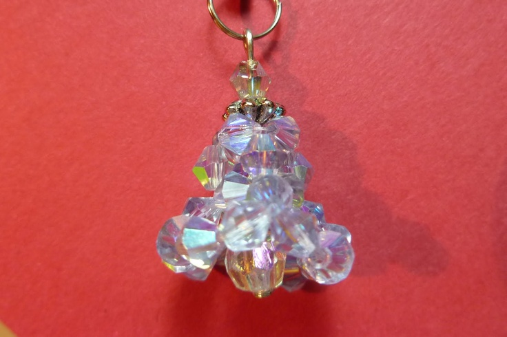 How to make a bell with beads: Beads Beads, Beads Christmas, Beads Patterns, Free Jewelry, Free Tutorials Patterns, Christmas Beads, Cute Beads Tutorials Free, Beads Free, Daily Beads