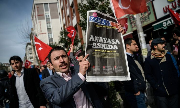 "#Seizure of news #agency is ""nail in coffin of journalism in #Turkey""..."