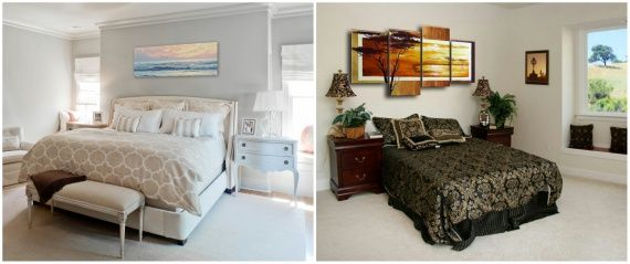 Как правильно разместить картины в интерьере помещения / Уют и интерьер / HomeHolidays - Блог о домашнем уюте