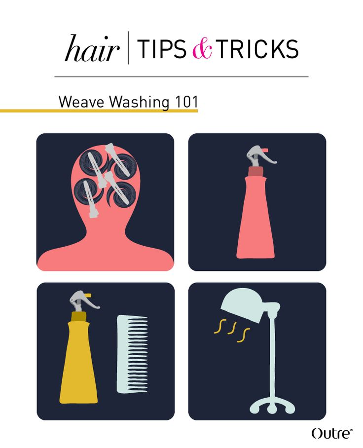 Weave Hair 101: How to Wash Your Hair While Wearing a Weave :http://www.outretalks.com/weave-hair-101-how-to-wash-your-hair-while-wearing-a-weave/