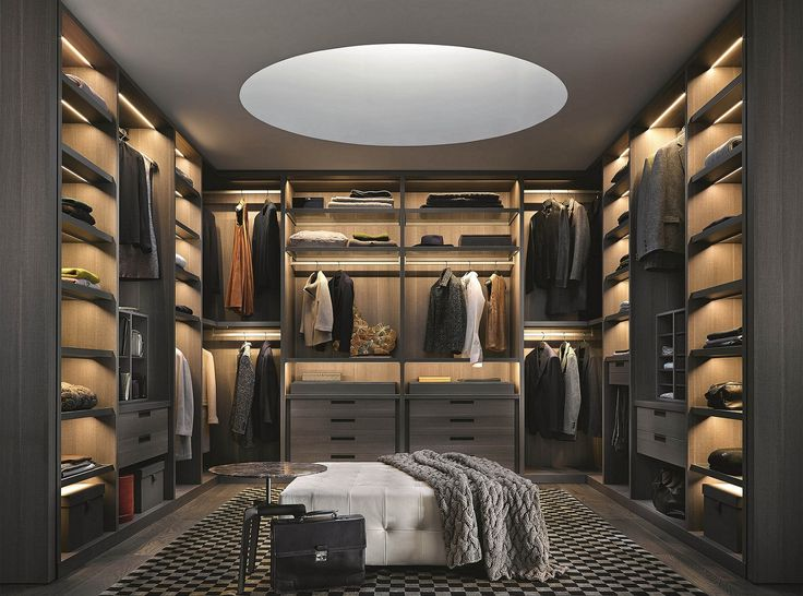 Attractive Large Walk In Closet Designs Ideas