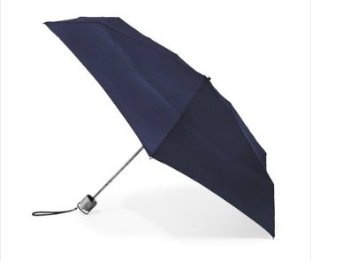 #10: Bravo-fit Totes Micro-slim Black Umbrella 6 Length Opens to 38 Dome1947 Visit, Totes 2Buy