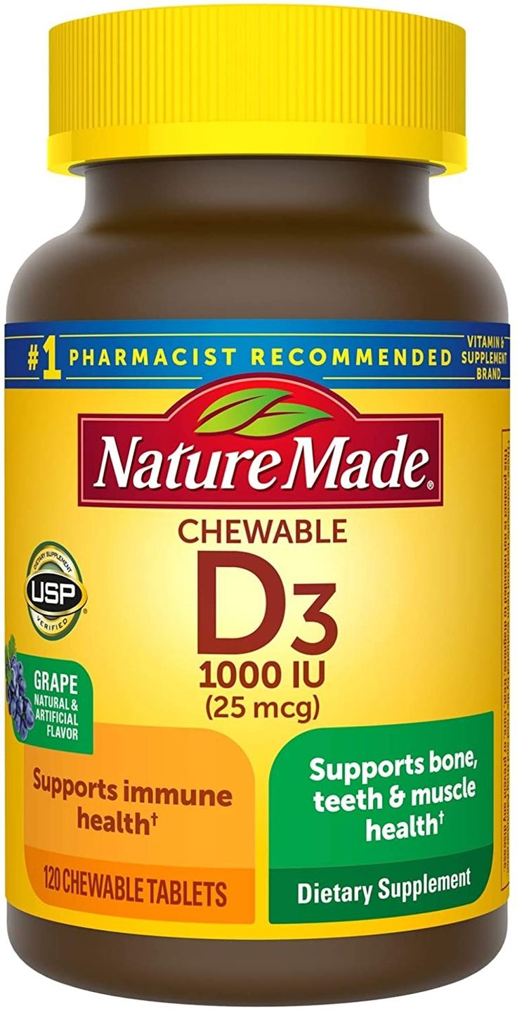 Vitamin D3 in 2020 Nature made vitamins, Bone health
