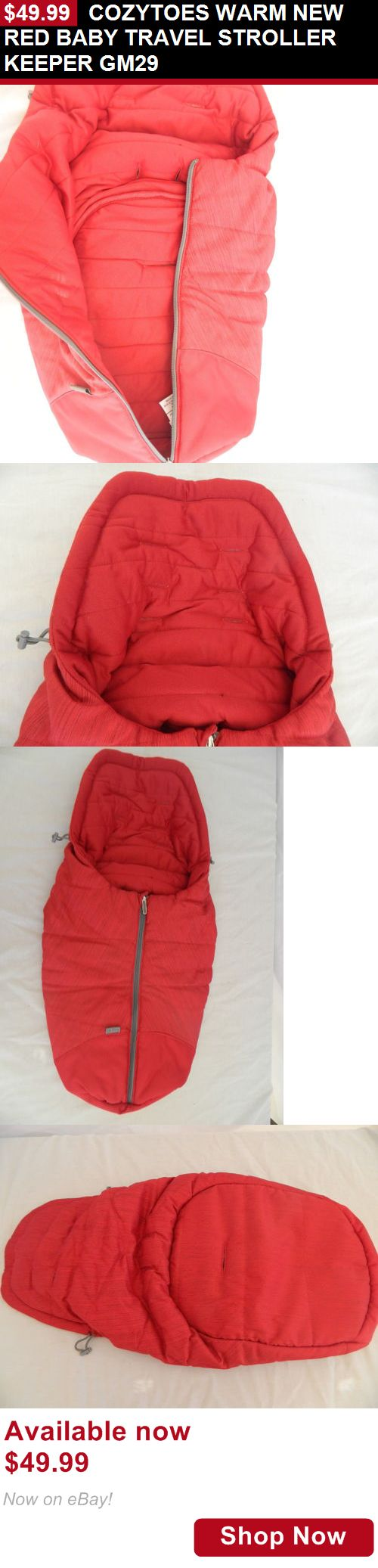 Other Strollers: Cozytoes Warm New Red Baby Travel Stroller Keeper Gm29 BUY IT NOW ONLY: $49.99
