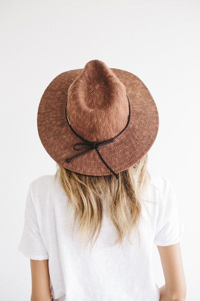 Gigi Pip Women's Summer Hat | wide rim hat | neutral colors | casual outfit