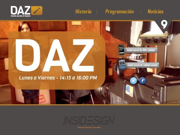 Canal 9 regional / Rediseño by Freddy Rojas, via Behance