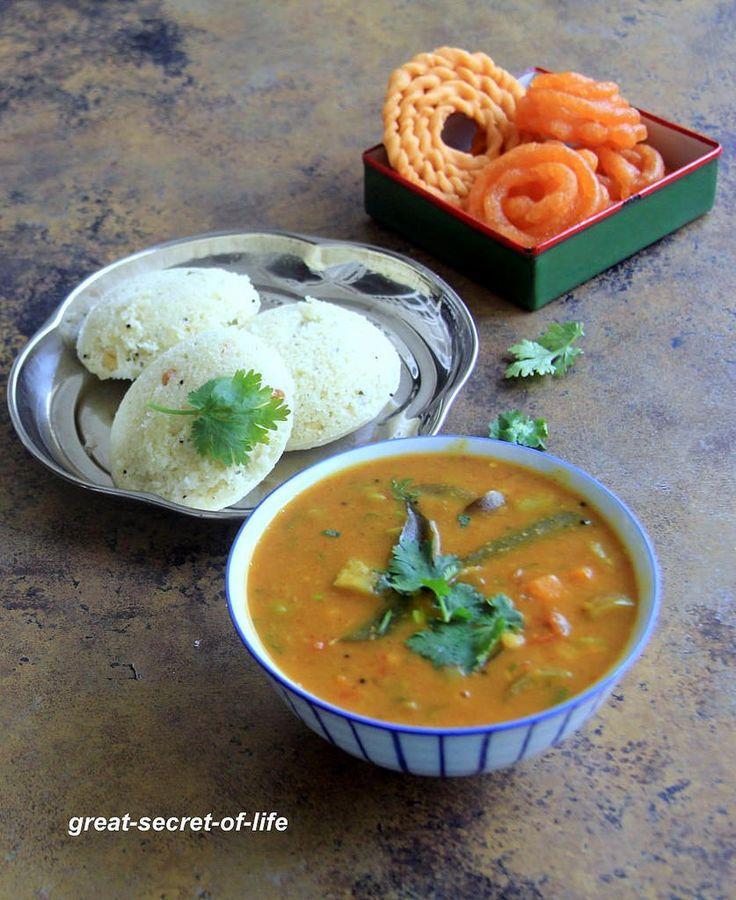 I love to try different sambar recipes for idli / dosa. My husband can have sambar with literally anything. My mum does idli sambar with...