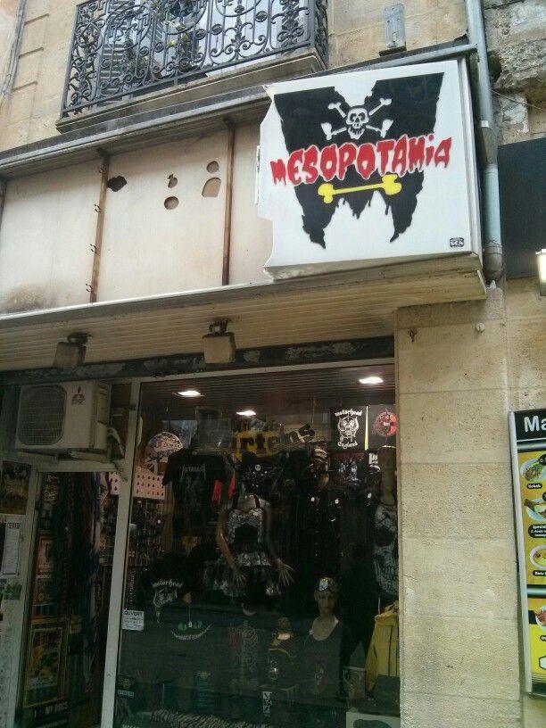 Tienda de comics Mesopotamia. Bourdeaux.