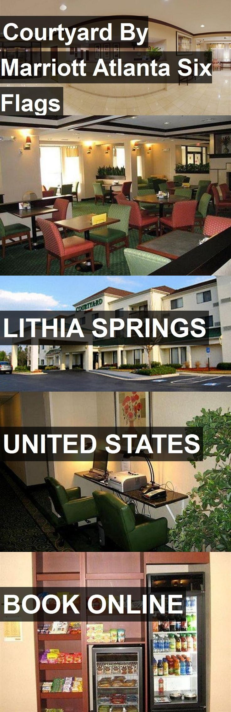 Hotel Courtyard By Marriott Atlanta Six Flags in Lithia Springs, United States. For more information, photos, reviews and best prices please follow the link. #UnitedStates #LithiaSprings #travel #vacation #hotel
