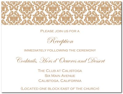indian reception invites - google search | invites | pinterest, Wedding invitations