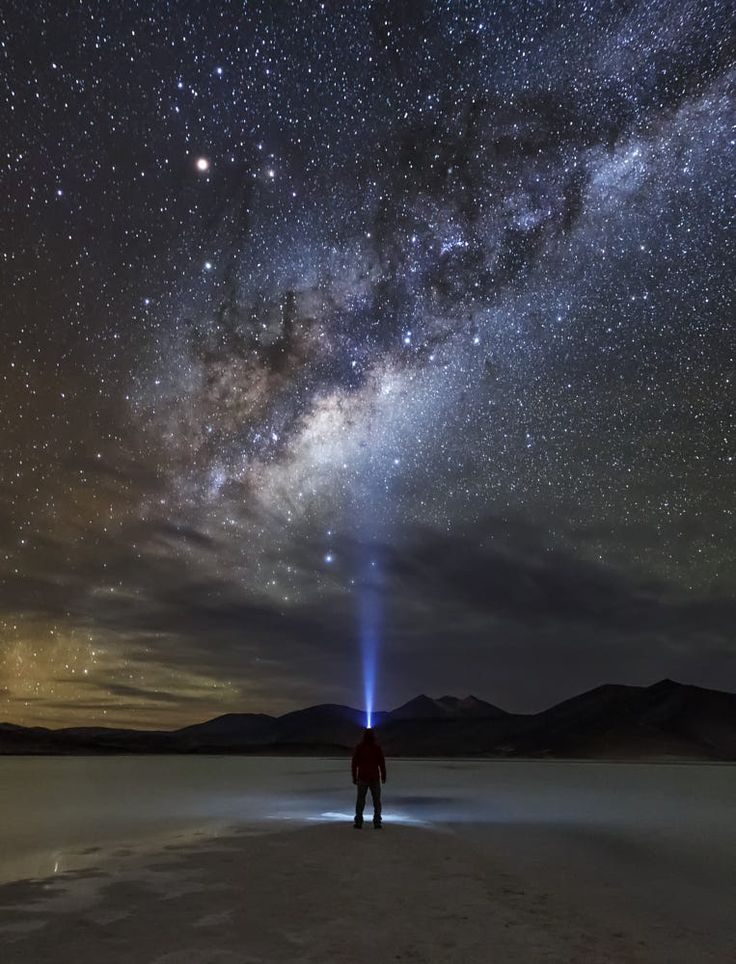 Alone in the Dark by VICTOR LIMA.... Piedras Rojas, Atacama Desert, Chile.