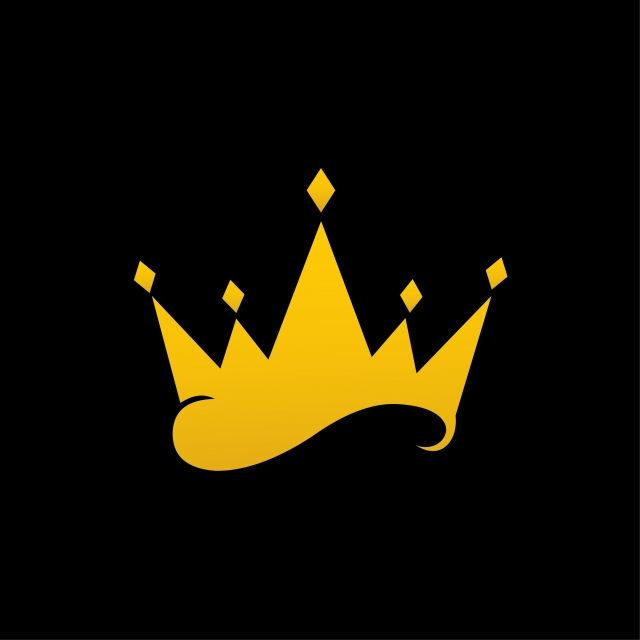 Download This Vector Crown Isolated On Black Background Crown Clipart Crown Icons Black Icons Transparent Png Or Vector Fi In 2021 Logo Design Art Art Logo Gem Logo