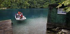 Sabia que a lagoa azul do filme fica na Jamaica? E não é a única da ilha