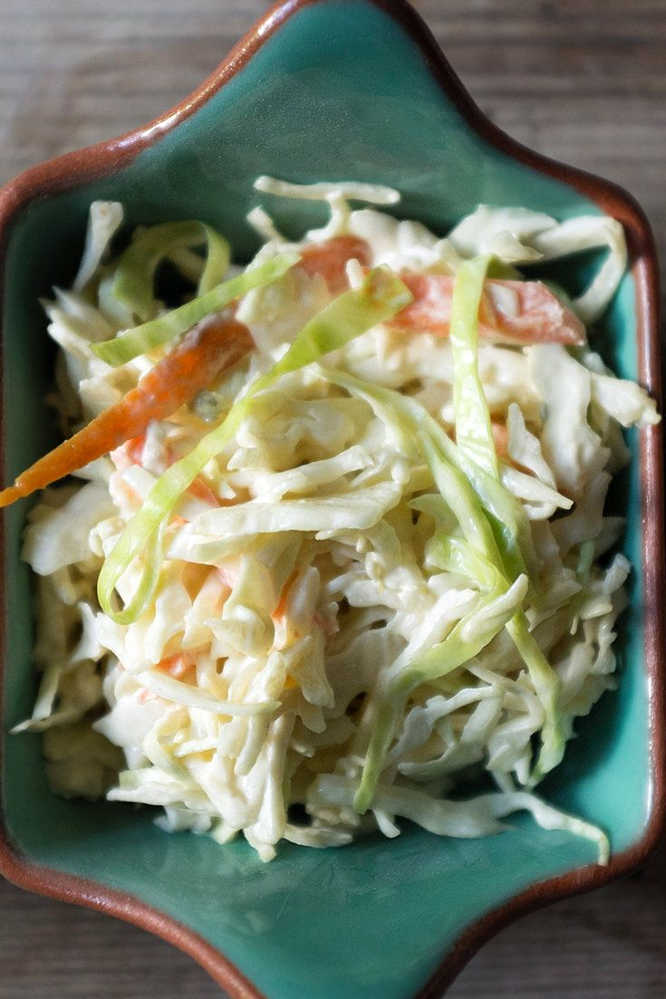 NYT Cooking: This easy, crisp slaw can be made a few hours ahead of time. It goes well with ribs and a cold beer, fried chicken or whatever summer feast sparks your fancy.