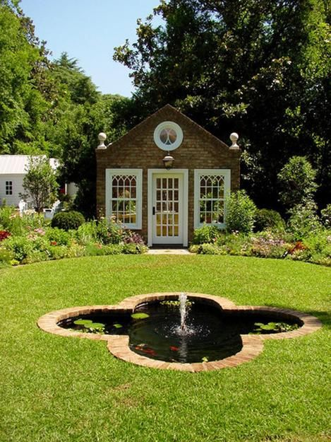 Beautiful Garden House Designs Adding Charm and Comfort to Backyard Landscaping