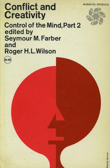 Love this book cover design by Rudolph de Harak.