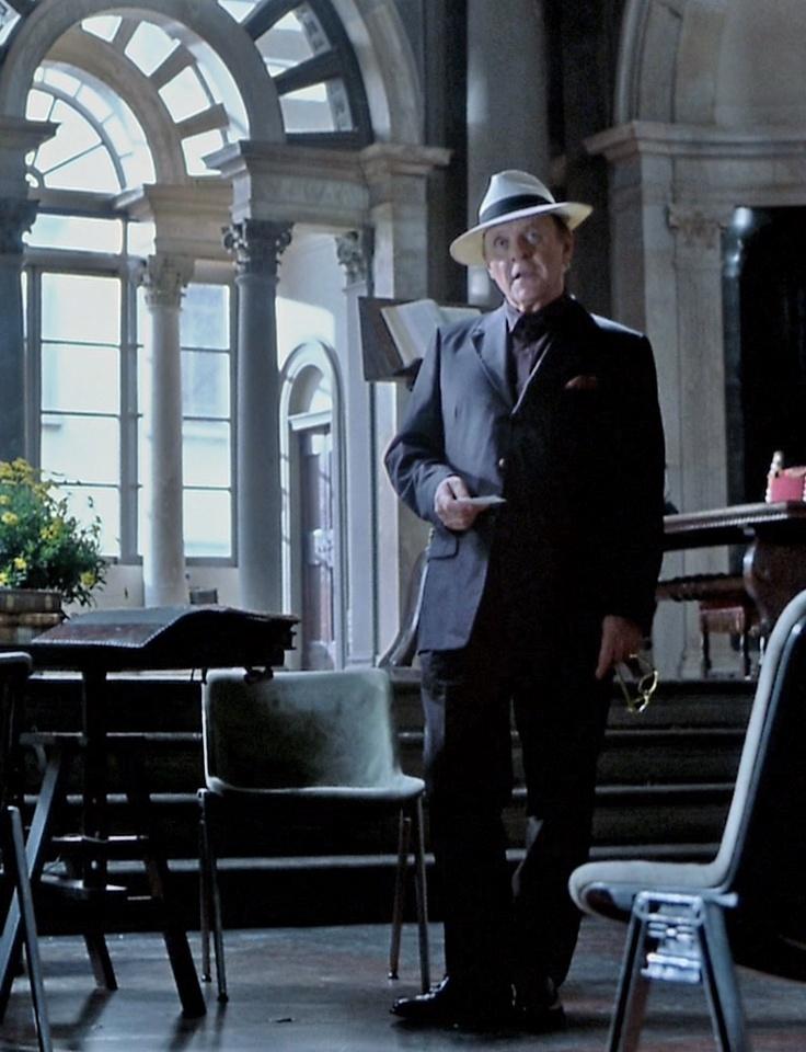 Sir Anthony Hopkins as Hannibal...
